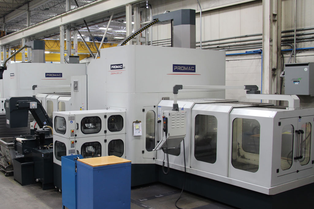 2013 - Promac Zephyr High Speed 5-Axis